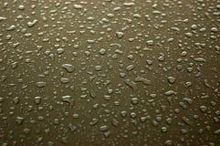 Gouttes de pluie Image libre de droits
