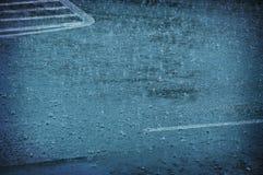 Gouttes de pluie de pluie Images libres de droits