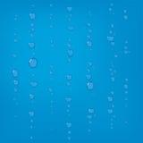 gouttes de pluie en verre illustration stock