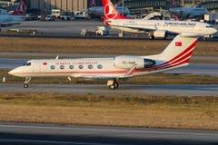 Gouvernement de TC-GAP Turquie, Gulfstream G-IV Image libre de droits