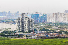 Gouvernement du Nigéria de SAI, VIETNAM - 1er juillet 2016 - un coin d'île de Thanh Da, ville de Ho Chi Minh, Vietnam Images stock