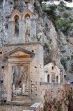 Gouverneto Monastery on the island of Crete Stock Photo