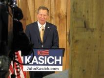 Gouverneur Kasich Officially Suspends zijn Presidentiële Campagne van 2016 Royalty-vrije Stock Foto's