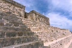 Gouverneur-Palast in Uxmal, Mexiko Stockfotos