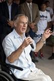 Gouverneurskandidat spricht zu Freiwilligen Stockbilder