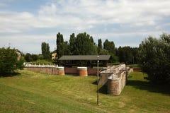 Govèrnolo-Bereich, Mantua Italien Stockbild