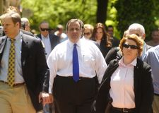 Gov. Chris Christie Stock Photography