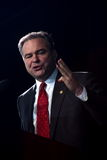 Gov. Kaine at Obama Rally Stock Photos