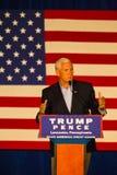Gov Mike Pence Campaigns no Condado de Lancaster Imagem de Stock Royalty Free