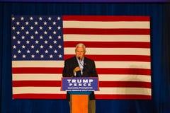 Gov Pence Speaks na câmara municipal do GOP do PA Fotos de Stock