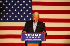 Gov Pence Speaks na reunião do GOP do PA Fotografia de Stock