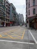 gov Rua de Nobre de Carvalho em Macau imagem de stock royalty free