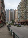 gov Rua de Nobre de Carvalho em Macau fotos de stock