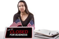 Goverment Shutdown Stock Image
