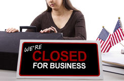 Goverment Shutdown Stock Images