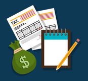 Goverment taxes payday Royalty Free Stock Photos