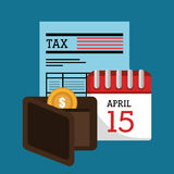 Goverment taxes payday Stock Photo