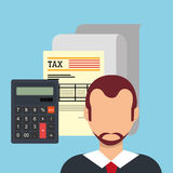 Goverment taxes payday Stock Photography