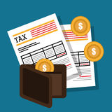Goverment taxes payday Royalty Free Stock Images