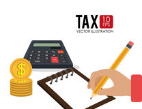Goverment taxes payday Stock Images