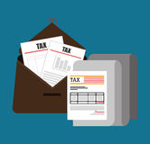 Goverment taxes payday. Graphic icons,  illustration eps10 Royalty Free Stock Photos