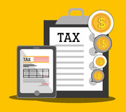 Goverment taxes payment Stock Photo