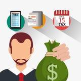 Goverment taxes payment Stock Photos