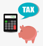 Goverment taxes payment Royalty Free Stock Photography