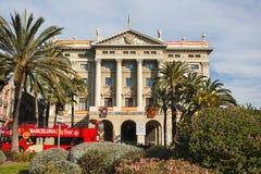 Govern Militar de Barcelona Royalty Free Stock Images