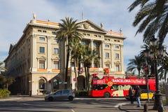Govern Militar de Barcelona Royalty Free Stock Photos