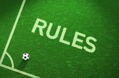 Governa il campo di calcio Immagini Stock Libere da Diritti