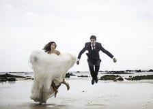 Governa il matrimonio del mare Fotografie Stock