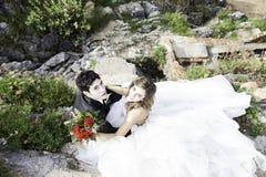 Governa il matrimonio del mare Fotografie Stock Libere da Diritti