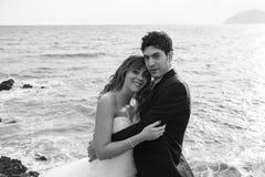 Governa il matrimonio del mare Immagine Stock