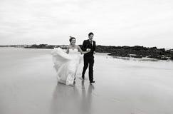 Governa il matrimonio del mare Fotografia Stock