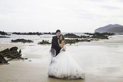 Governa il matrimonio del mare Immagini Stock Libere da Diritti
