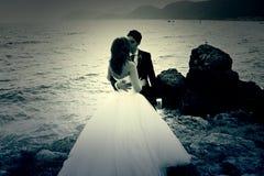 Governa il matrimonio del mare Immagini Stock