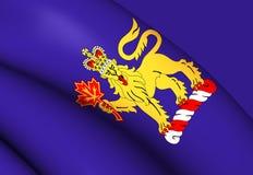 Governatore-generale della bandiera del Canada Immagini Stock Libere da Diritti