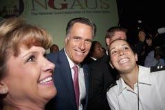 Governatore Mitt Romney fotografia stock