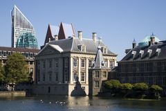 governement för 3 byggnader arkivbild