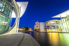 Governemnt buildings and Reichstag, Berlin, Germany Royalty Free Stock Image