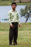 Government Administration Official in Chin State, Myanmar Stock Photography