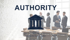 Government Authority Law Pillar Graphic. Government People Authority Law Pillar Stock Image