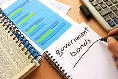 Free Government Bonds Written In A Note. Stock Photography - 93423082