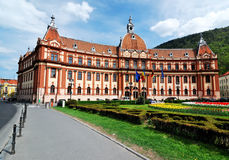 Government of Brasov county, Transylvania, Romania. Central administration building of Brasov county, in Romania Stock Photography