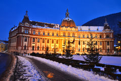 Government of Brasov county, Transylvania, Romania stock photo