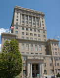 Government building. In Asheville North Carolina during the summer Stock Image
