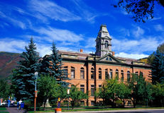 Government Building. Aspen, Colorado Stock Photography