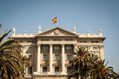 Government Building Barcelona Royalty Free Stock Photos
