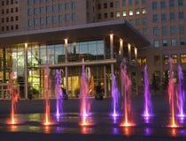Government Building With Fountains At Legislative Grounds Edmonton Alberta Stock Photo